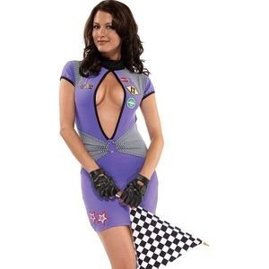 Sexy Costume - Racer Girl (S/M)